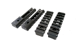 Misc 4 Pack of Rail Sections