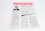HK Original Vintage Newsletter - The Firing Line - 1989