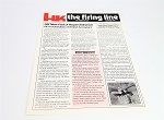 Original Vintage HK Newsletter - The Firing Line - 1990