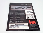 HK Original Vintage HK SL8-1 Spec Sheet
