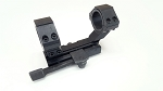 NcStar 1-Piece Quick-Release Scope Mount Weaver-Style with Integral 30mm Rings and 1