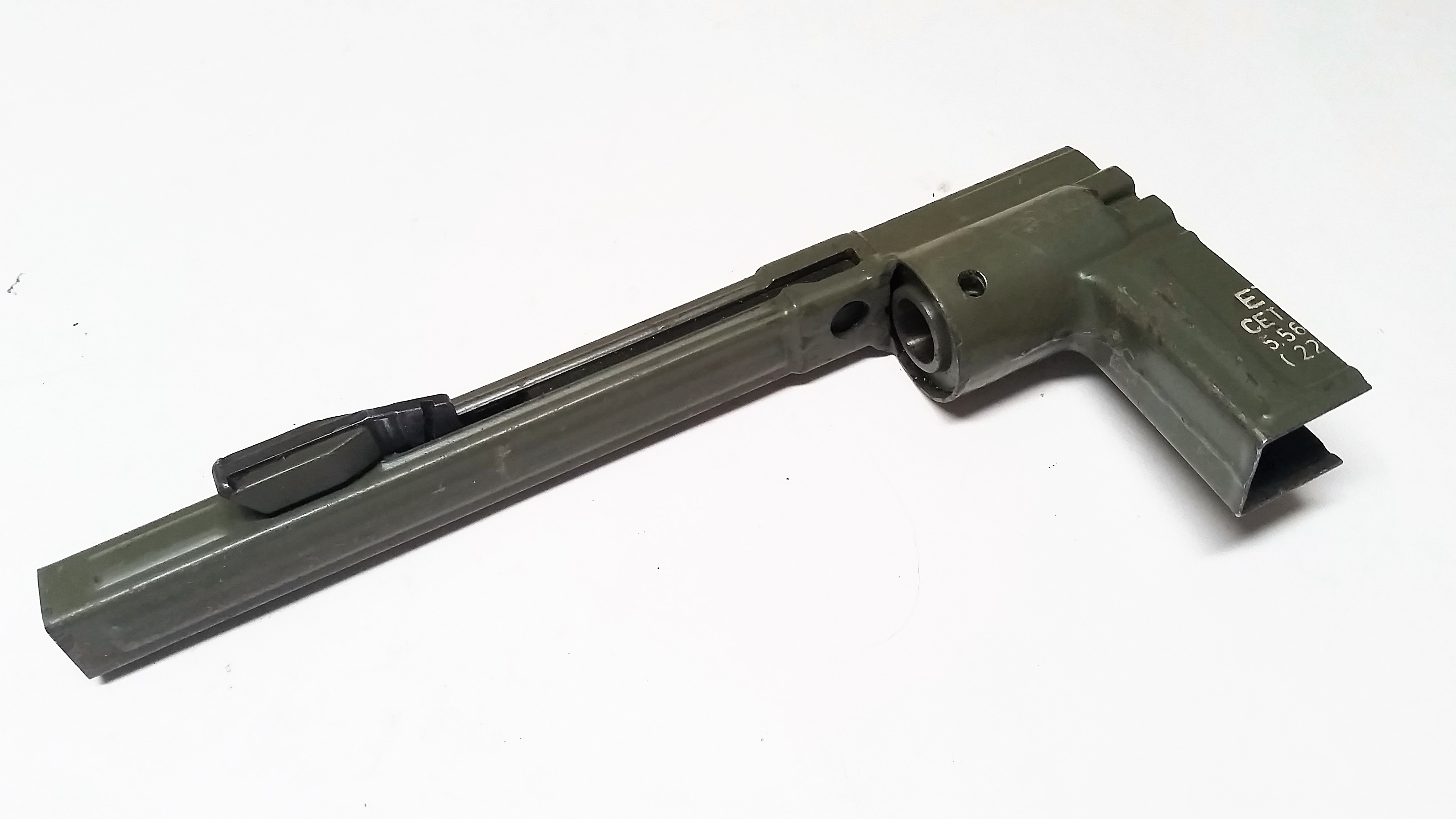 Cetme L 5.56 Cocking Tube Handle Support And Trunnion Assembly