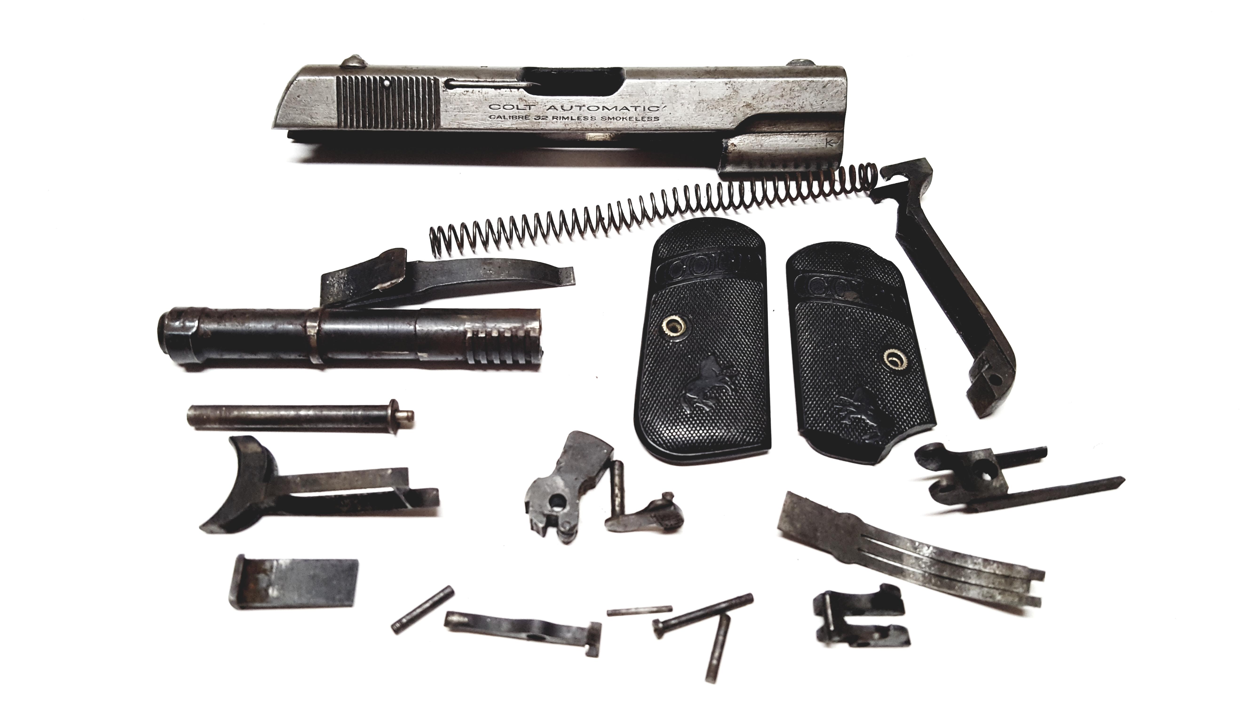 Colt 1908 parts