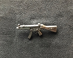HK Collectible Pin - HK MP5 - Left - Silver