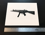 Original Vintage HK Photograph - MP5 A2 - SF - Left Side - B&W