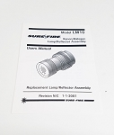 SureFire LM10 Light Assembly Manual