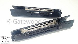 HK93 G3K Wide Handguard - Vented - Black