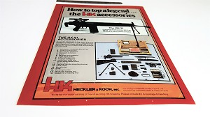 Vintage HK91 and Accessories Promotional Material