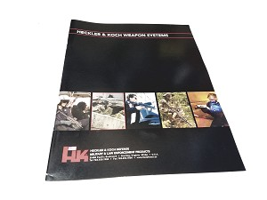 Original Vintage HK Weapon Systems Product Guide - F