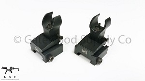 Midwest Industries Black Folding HK Front Sight