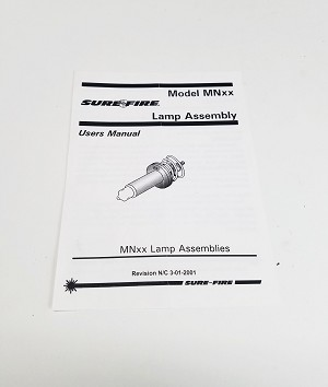 SureFire MNxx Lamp Assembly Manual